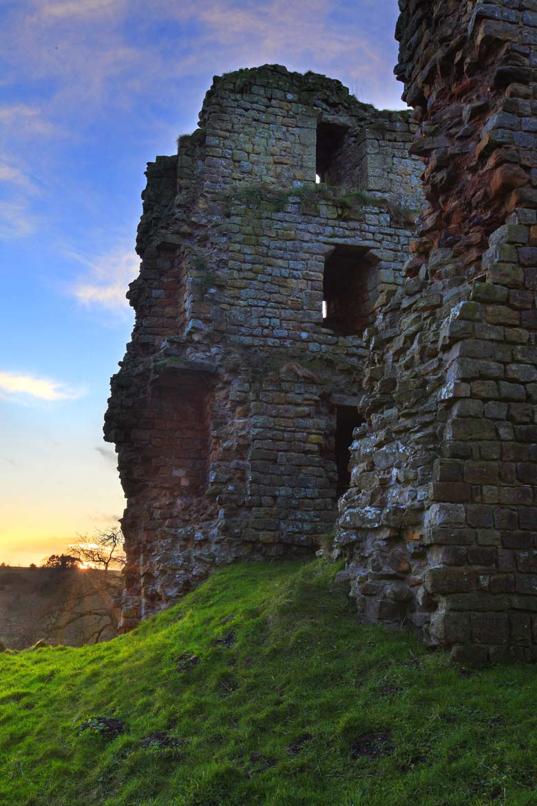 Thirlwall Castle, Hadrian's Wall, Greenhead, Northumberland