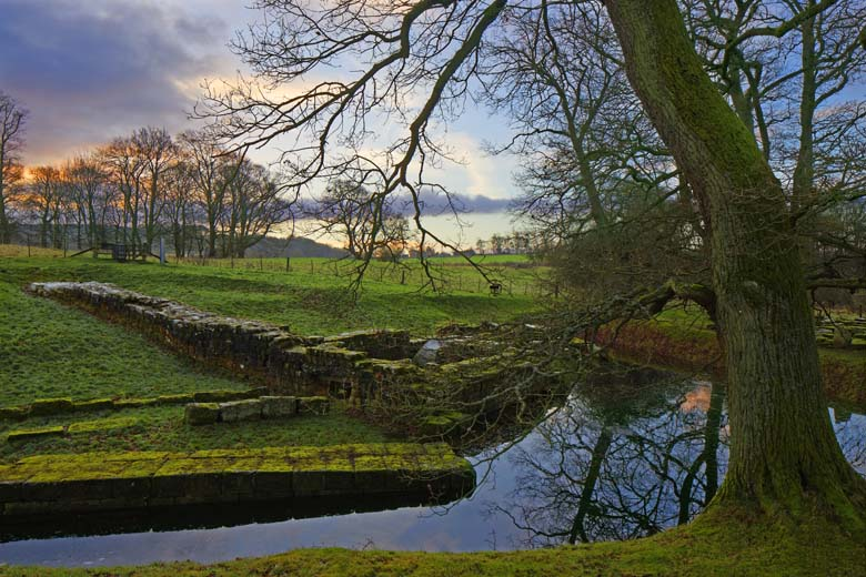 Bridge At Chesters Roman Fort, Hadrian's Wall, Northumberland