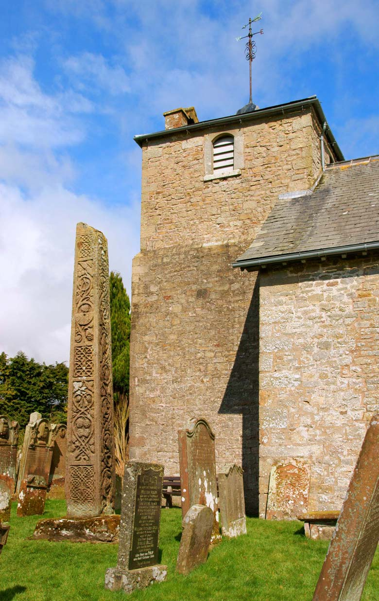 Bewcastle, Bewcastle Church And Cross, Cumbria