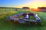 Photograph Temple Of Mithras, Brocolitia, Hadrian's Wall, Northumberland