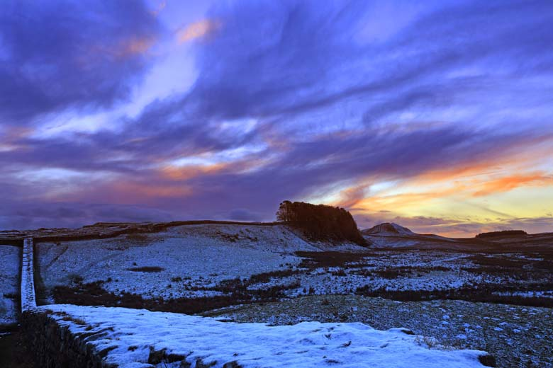 Knag Burn Gateway, Housesteads Crags, Hadrian's Wall, Northumberland