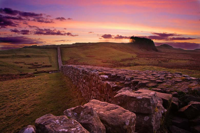 Knag Burn Gateway, Hadrian's Wall, Northumberland