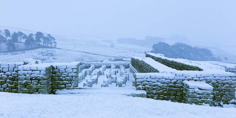 The Granary, Housesteads Roman Fort, Hadrian's Wall