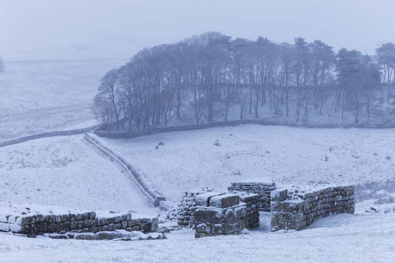 The North Gate, Housesteads Roman Fort, Hadrian's Wall