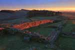 Photograph Housesteads Roman Fort, Hadrian's Wall, Northumberland