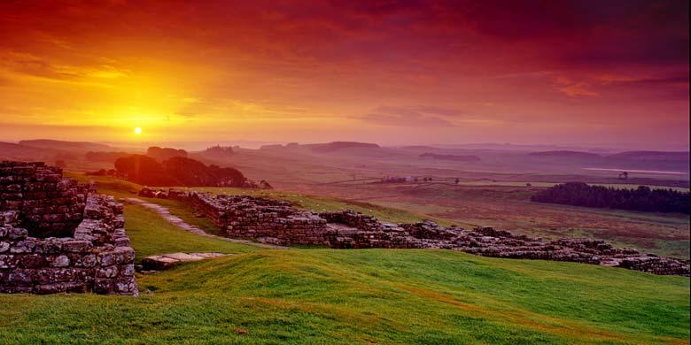 Housesteads, Roman Fort, Hadrian's Wall, Northumberland