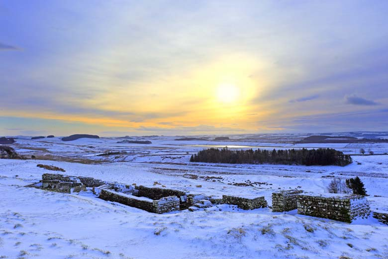 Housesteads Roman Fort, Hadrian's Wall, Northumberland