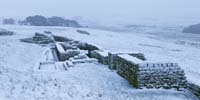Photograph The Latrines, Housesteads Roman Fort, Hadrian's Wall