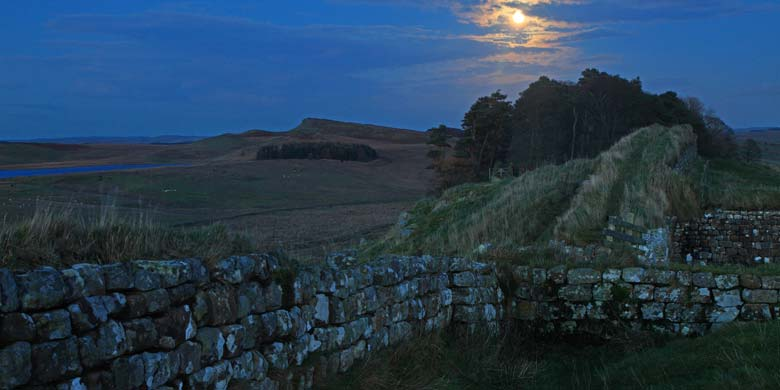 Housesteads Crags, Hadrian's Wall, Northumberland