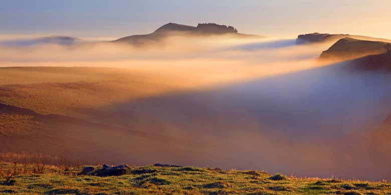 From Steel Rigg, Hadrian's Wall, Northumberland