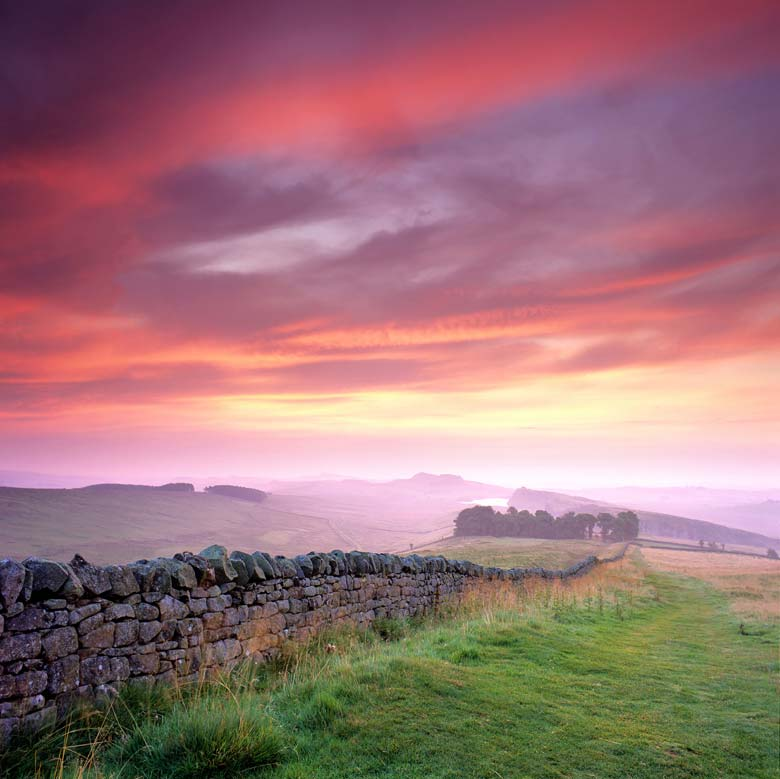 Winshields Crags, Hadrian's Wall, Northumberland