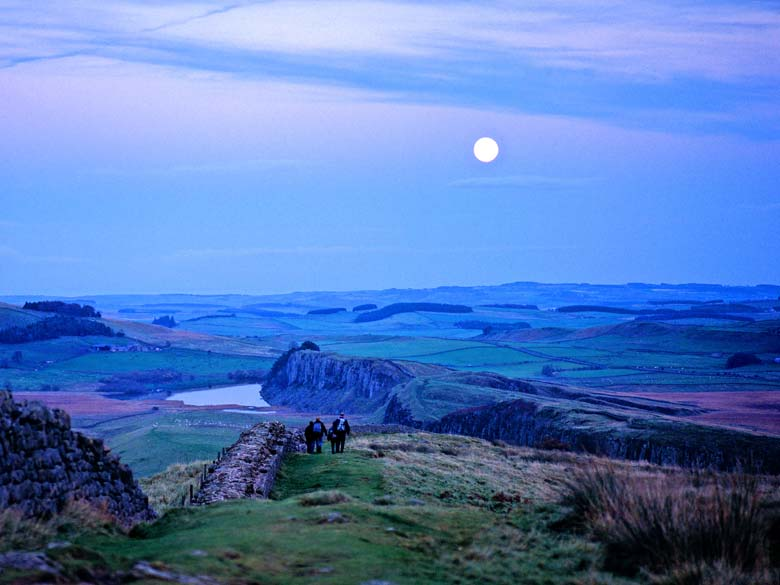 Winshield Crags, Hadrian's Wall, Northumberland
