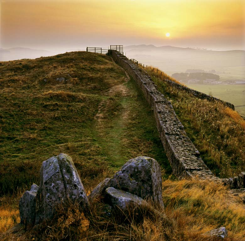 Cawfields Crags, Hadrian's Wall, Northumberland