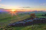 Photograph Cawfields Crags, Hadrian's Wall, Northumberland