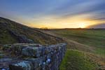 Photograph Cawfields Crags Hadrian's Wall