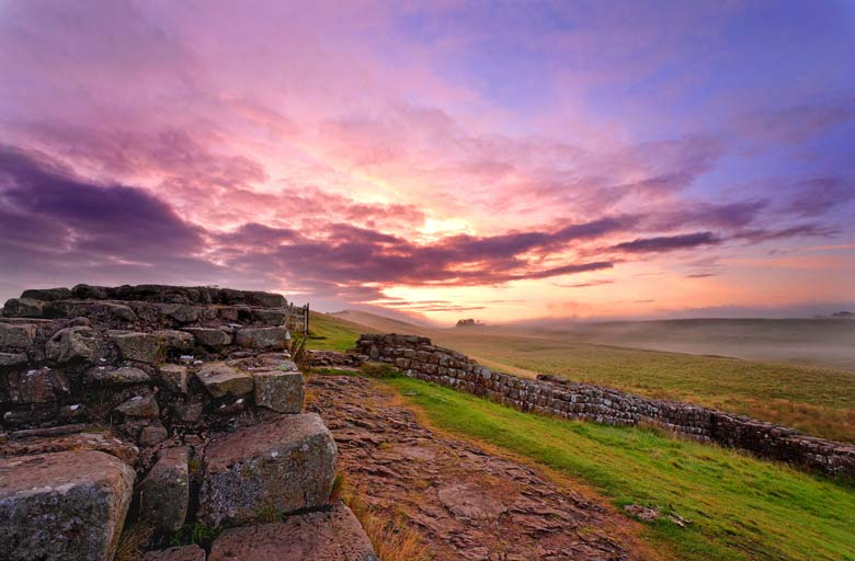 Milecastle 42, Cawfields, Hadrian's Wall, Northumberland