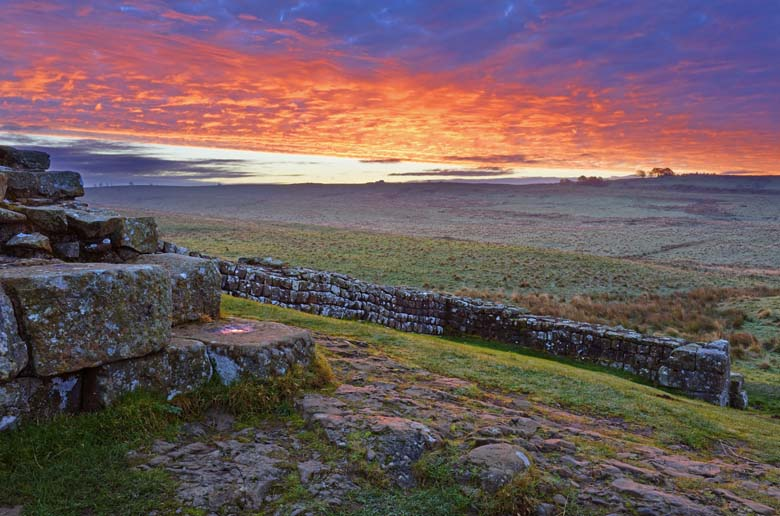 Milecastle 42 Cawfields Crags Hadrian's Wall Northumberland