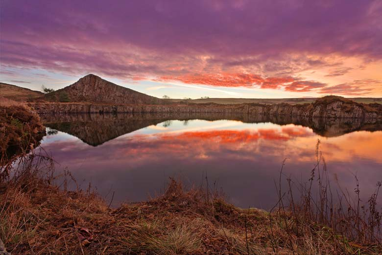 Cawfields Quarry, Cawfields, Hadrian's Wall, Northumberland