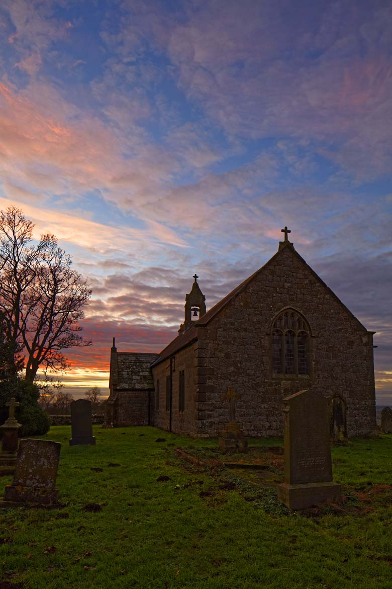 St Oswald's Church, Heavenfield, Northumberland
