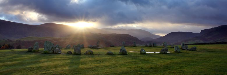 Castlerigg Stone Circle, Keswick, Lake District, Cumbria