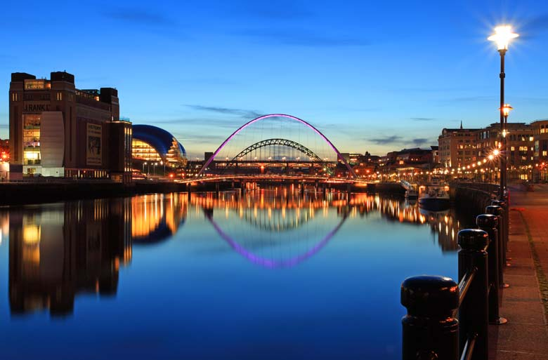 Newcastle Quayside Bridges, Newcastle Upon Tyne