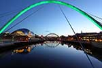 Photograph Newcastle Quayside Bridges, Newcastle Upon Tyne