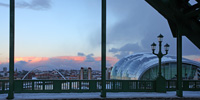 Photograph Tyne Bridge, Millennium Bridge and the Sage, Newcastle Upon Tyne