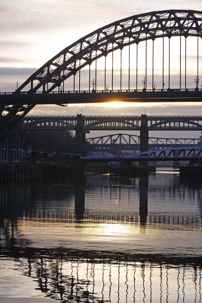 Five Bridges, Quayside, Newcastle Upon Tyne