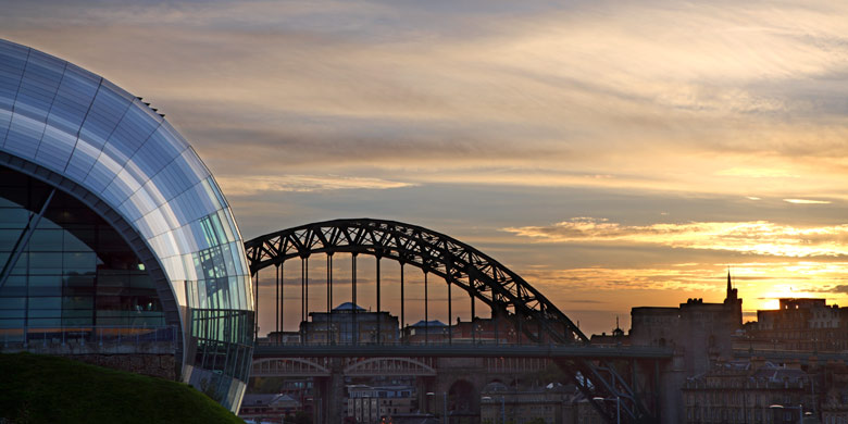 Sage and Tyne Bridge, Newcastle Upon Tyne