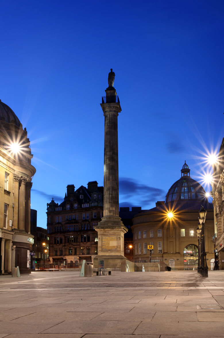 Grey's Monument, Grainger Town, Newcastle Upon Tyne