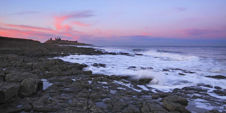 Dunstanburgh Castle, Northumberland Coast