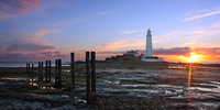 Photograph St Mary's Lighthouse, Northumberland