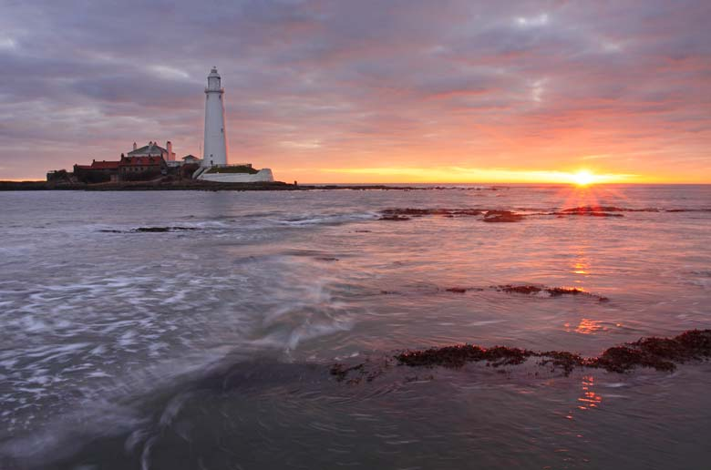 St Mary's Lighthouse, Northumberland