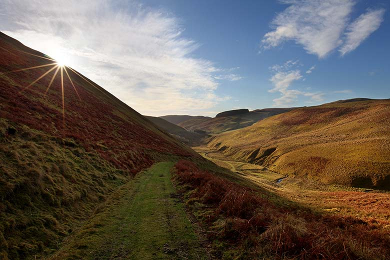 Barrowburn, Cheviots, Northumberland National Park