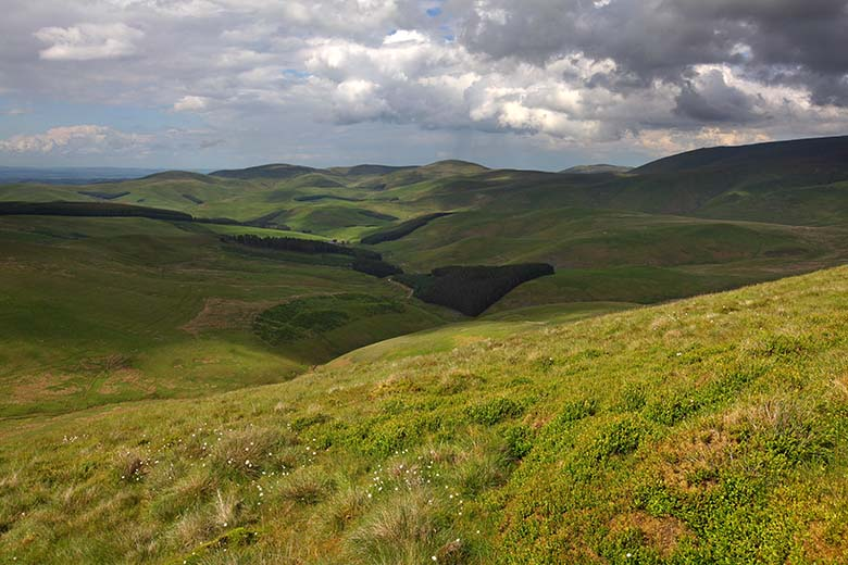 Windy Gyle, Cheviots, Northumberland National Park