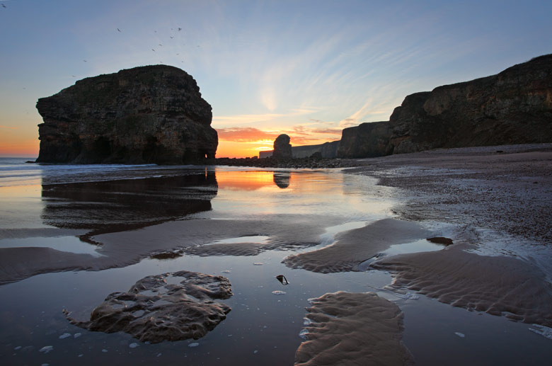 Marsden Rock, South Shields, South Tyneside