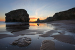 Photograph Marsden Rock, South Shields, South Tyneside