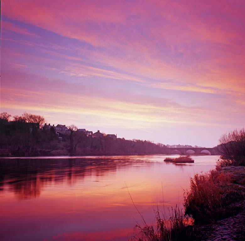 River Tyne, Corbridge, Northumberland