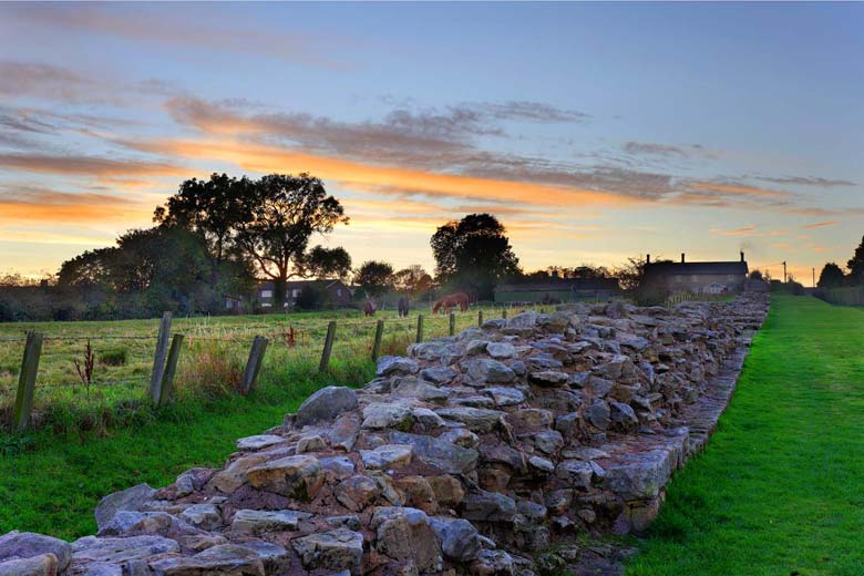 Heddon on the Wall, Hadrian's Wall, Northumberland