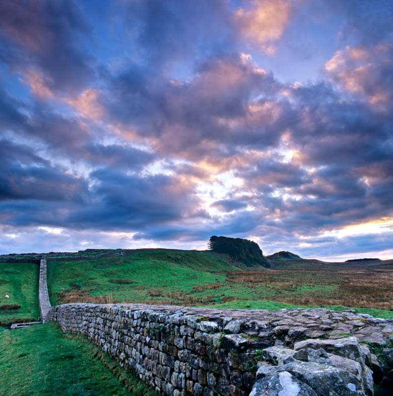 Knag Burn Gateway, Housesteads Crags, Hadrian's Wall