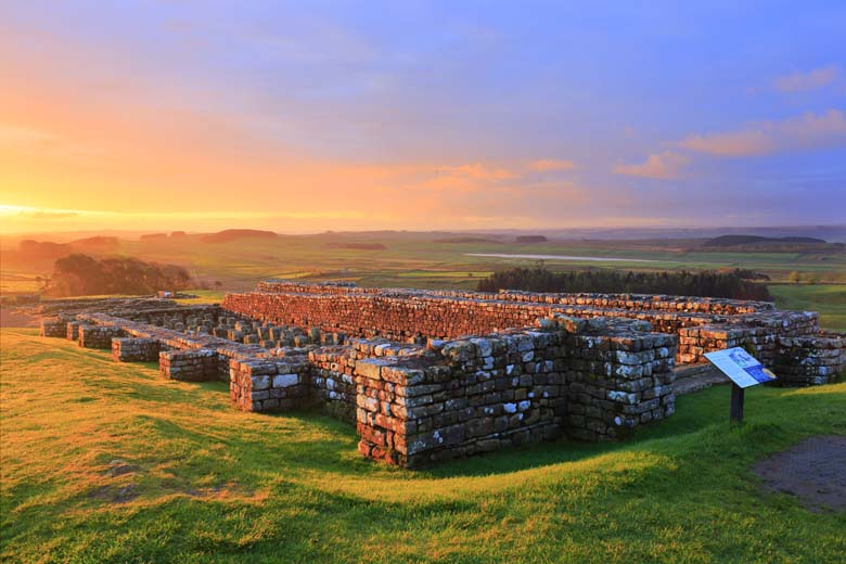 The Granary, Housesteads Roman Fort, Hadrian's Wall, Northumberland