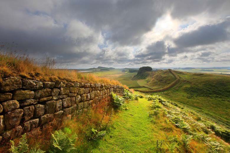 Housesteads Crags, Cuddy's Crags, Hadrian's Wall, Northumberland