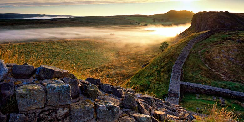 Castle Nick, Hadrian's Wall, Northumberland
