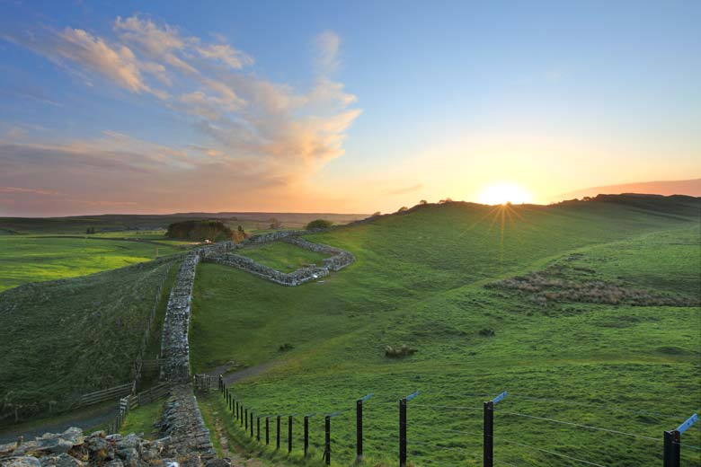 Milecastle 42, Cawfields Crags, Hadrian's Wall, Northumberland